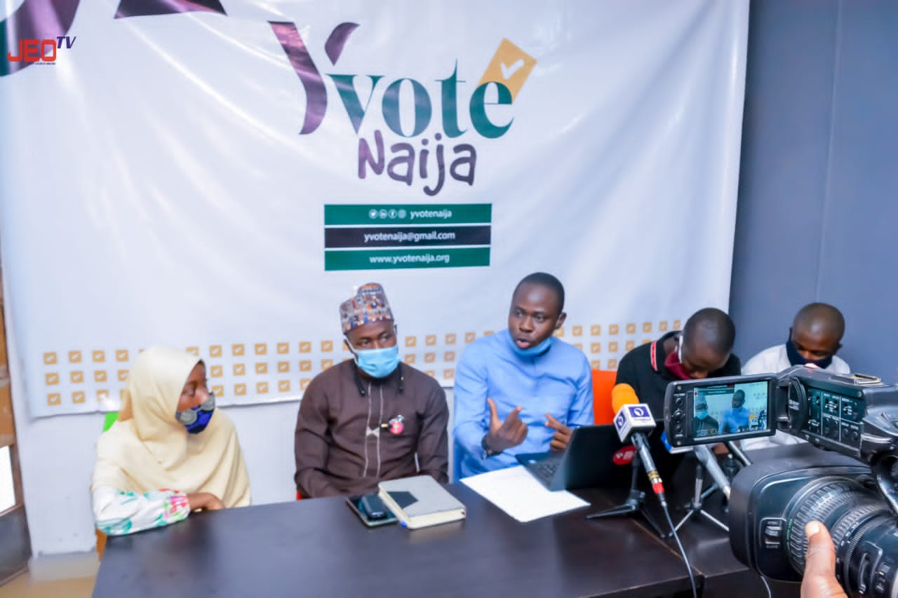 TEXT OF THE PRESS CONFERENCE ADDRESS BY THE EXECUTIVE DIRECTOR OF BRAIN BUILDERS YOUTH DEVELOPMENT INITIATIVE AT THE LAUNCHING OF YVOTE NAIJA ON THURSDAY, 7 JANUARY, 2021 IN ILORIN, KWARA STATE